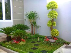 6 Simple and Crazy Tips and Tricks: Mini Garden Ideas Raised Beds dream backyard garden front yards. Front Yard Garden Design, Small Garden Design, Front Yard Landscaping, Landscaping Ideas, Tiny Garden Ideas, Minimalist Garden, Backyard Garden Landscape, Small Gardens, Garden Planning