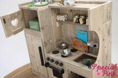 Kinderkeuken Nienke van steigerhout