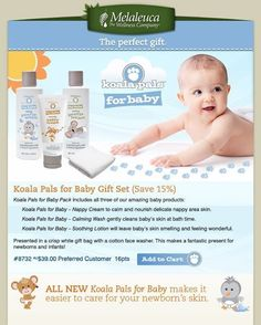 cef2c261bc5f home made melaleuca for baby Really good and amazing more natural & safe  products. Www