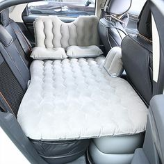Outdoor Camping Travel Bed Moisture-proof Pad Car MPV SUV Car Back Seat Cover auto Travel Mattress Air Inflatable Bed with pump Pillow Mattress, Air Mattress, Bed Pillows, Car Seat Pillow, Portable Mattress, Car Wrap Design, Inflatable Car Bed, New Car Accessories, Camping Accessories