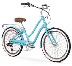 The Top 10 Best Rated Women Comfort Bikes, 26 inch are Sixthreezero EVRYjourney Women's Bike, Firmstrong Urban Lady Beach Cruiser Bicycle, Sixthreezero Around the Block Women's Cruiser Bike and Beach Cruiser Bikes, Cruiser Bicycle, Mountain Bikes For Sale, Mountain Bicycle, Bicycles For Sale, Buy Bike, Commuter Bike, Bicycle Maintenance, Cool Bike Accessories