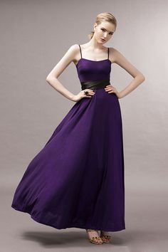 Luxury Pleated Square Neck Off The Shoulder Sleeveless Purple Cotton Ankle Length Dress