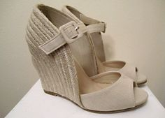 perfect neutral shoe for summer...can dress up or down