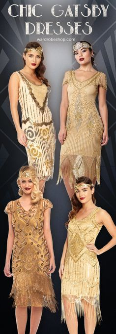 Great Gatsby Inspired Look | 1920s Themed Party & Vintage Style Outfit | Roaring Twenties & Retro Look Dresses
