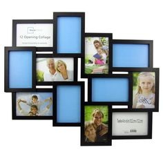 Mainstays Collage Frame -- two  of the 6-frame collage frames side x side