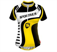 TRIO Biking Different Colors Woman's Jersey With Custom Name and Logo