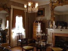 """""""Lauri Mundi"""" - parlor, 1847 Antebellum Aberdeen, Mississippi"""