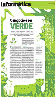 Graphic Pages by Maurenilson Freire, via Behance #Newspaper #Design #GraphicDesign