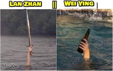 Fb Memes, Funny Memes, Dramas, Drama Funny, Handsome Anime Guys, Thai Drama, The Grandmaster, Cute Gay, Fujoshi