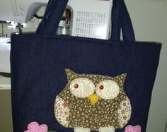 Bag sova patchwork