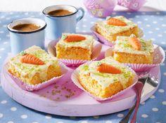 Unser beliebtes Rezept für Möhren-Mandel-Blechkuchen mit Zitronenguss und mehr als 55.000 weitere kostenlose Rezepte auf LECKER.de.
