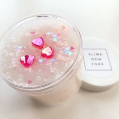 This slime is so beautiful! It's is a Valentine's Day slime and it's really fun to play with I bought it comment if you bought it it's so cool Diy Crafts Slime, Slime Craft, Pink Slime, Glitter Slime, Glitter Hair, Slime Pictures, Slimy Slime, Edible Slime, Pretty Slime