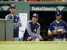 The Rays first off-season change came Monday as it was announced that bench coach Tom Foley is moving to a new position within organization. Tampa Bay Rays Baseball, Season Change, Florida, Mlb, Toms, Bench, Positivity, Organization, Baseball Cards
