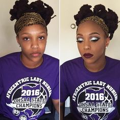 ✂️ Silver glitter cut crease ✂️ Prom season is in full effect, and it's going! #ohiomua #wakeupandmakeup #hudabeauty #vegas_nay #prom2k16 #prommakeup