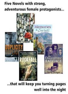 5 books ON SALE through March 4, 2016 - filled with adventure, suspense, and strong female characters. ▲Books with Altitude▲