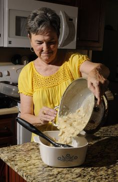 "Brenda's #Chicken and Dumplings Recipe """"It came from the cafeteria manager of Sale Creek School in the '40s, '50s and '60s, They had wonderful, wonderful cooks"" Chattanooga, TN"