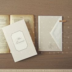 wedding invitations, graph ice design