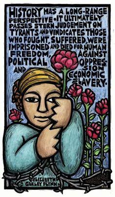 (ET, art by Ricardo Levins Morales)