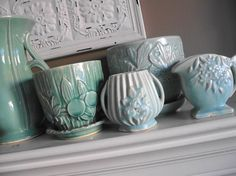 From settling on a color scheme to creating a functional floor plan, decorating your house requires. Mccoy Pottery Vases, Antique Pottery, Or Antique, Pottery Art, Roseville Pottery, Vintage Planters, Vintage Vases, Ceramic Planters, Vintage Decor