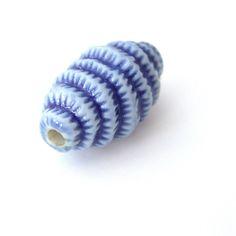 https://flic.kr/p/cZaqTm   lovely beads 066   cobalt focal bead, porcelain
