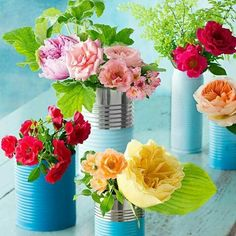 Cans for planters
