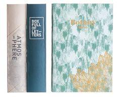 Boîte Storage book / Set 3 boîtes-livres - Tissu Multicolore - House Doctor - Décoration et mobilier design avec Made in Design