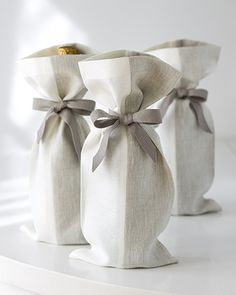 introducing studiopatro linen gift bags.