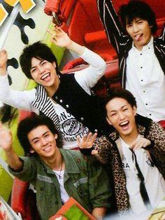 7west : Shigeoka Daiki, Kamiyama Tomohiro, Fujii Ryusei and Kotaki Nozomu