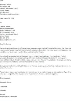 61 Best COVER LETTER images | Cover letter template ...