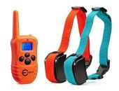 Upgraded LED Backlight] Esky® 330 Yards Remote Training E-collar Rechargeable Waterproof Dog Training Collar with Safe Beep, Vibration, Shock Collar for 2 Medium or Large Dogs Large Dog Crate, Large Dogs, Dog Crates For Sale, Dog Kennels For Sale, Plastic Dog Crates, Electric Dog Collar, Wireless Dog Fence, Dog Shock Collar, Cool Dog Houses