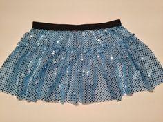 Cinderella Blue Running Costume Skirt by RockCitySkirts on Etsy, $25.00