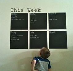 chalkboard vinyl from Uppercase Living