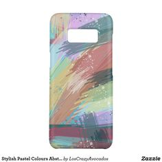 Stylish Pastel Colours Abstract Art Case-Mate Samsung Galaxy Case