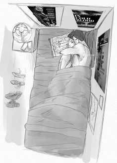 How nice should it be to sleep with you - # - # love couple drawings - Cute Couple Drawings, Cute Couple Art, Anime Love Couple, Couple Cartoon, Love Drawings, Art Drawings, Betty And Jughead, Wow Art, Love Illustration