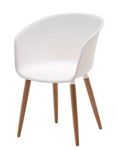 Tuoli VARMING muovi/FSC kovapuu   JYSK