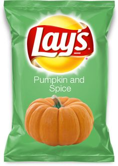 Lay's Pumpkin and Spice Chips