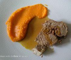 Noix de veau farcie aux abricots