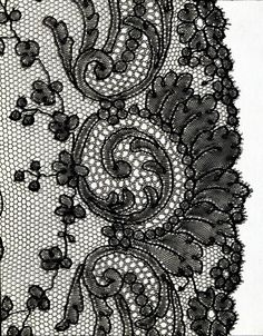 blace silk bobbin lace fan leaf with design of irises, French, Museum Number Crochet Doily Patterns, Fabric Patterns, Crochet Doilies, Dress Patterns, Russian Crochet, Irish Crochet, Embroidery Fabric, Lace Fabric, Antique Lace