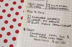 Make a DIY Moleskine planner From a Moleskine Notebook