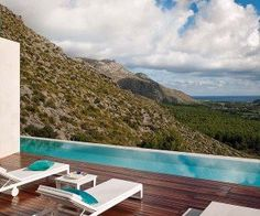A place like this is hard to pass up. Check out this impressive Majorcan house in the mountains.