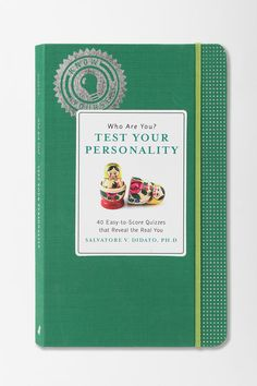 """Who Are You?"" series personality testbook by Salvatore V. Didato, Ph. D."