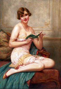A painting by Francois Martin-Kavel sorry,not a painting by Janet Hill People Reading, Book People, Reading Art, Woman Reading, Francois Martin, Good Books, Books To Read, Janet Hill, British Literature