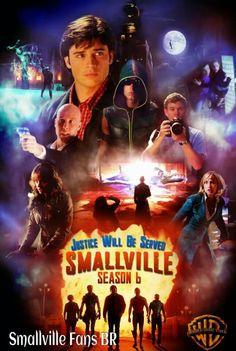 Smallville Season 6 Poster oh my gosh, this is possibly the BEST Smallville… Clark Kent, Lois E Clark, Series Poster, Movie Poster Art, Tv Series, Tom Welling, Annette O'toole, John Schneider, Kristin Kreuk