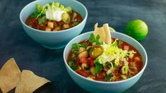 Sunny Anderson's Skinny Slow-Cooker Chicken Chili