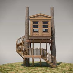 Treehouse Plans No. 11: Walla Walla designed by Pete Nelson