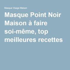 1000 ideas about masque point noir on pinterest black for Anti points noirs maison