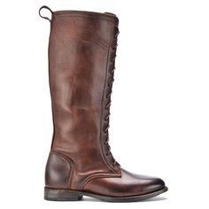 Vintage Shoe Company Eunice Chocolate Harness Womens Size: 6 $389 #VintageCompany #TrooperBoot #Casual