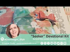 Seeker Devotional Kit - Behind the scenes and Introduction - YouTube Behind The Scenes, The Creator, Paper Crafts, Printable, Collections, Kit, Studio, Creative, Youtube