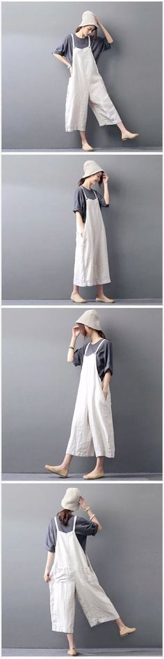 Clothes will not shrink,loose Cotton fabric, soft to the touch. *Care: hand wash or machine wash gentle, best to lay flat to dry. *Material: Cotton Linen Weight:400g *Colour:Photo colour *Model size: