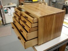 7 Drawer Hickory Toolchest